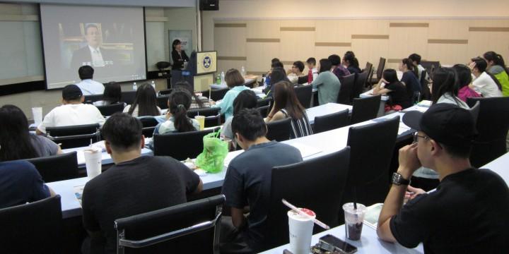 20171011元智大學AIA課程講座說明會圓滿成功