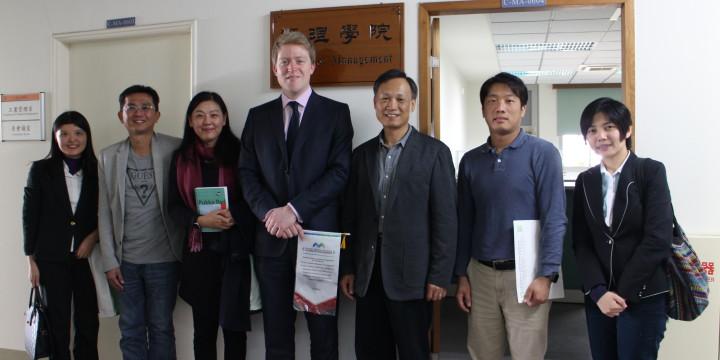 AIA英國國際會計師公會至國立虎尾科大及亞州大學交流