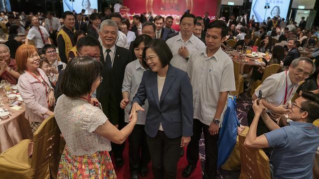 蔡英文總統:推動臺灣整體產業轉型,會計師是不可或缺的角色!
