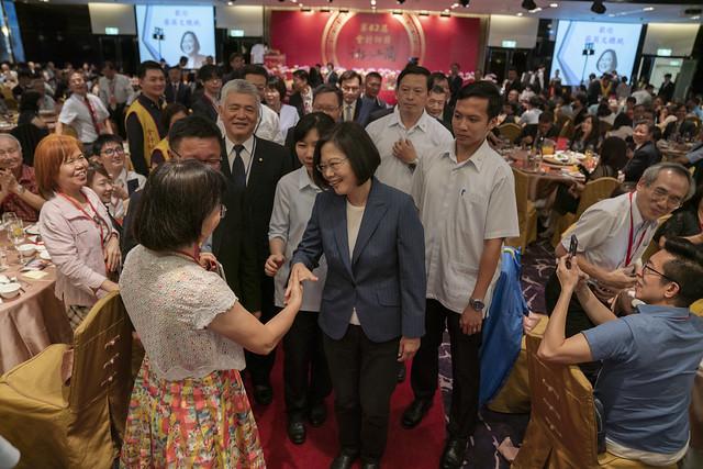 總統出席「第62屆會計師節慶祝聯歡晚會餐敘」